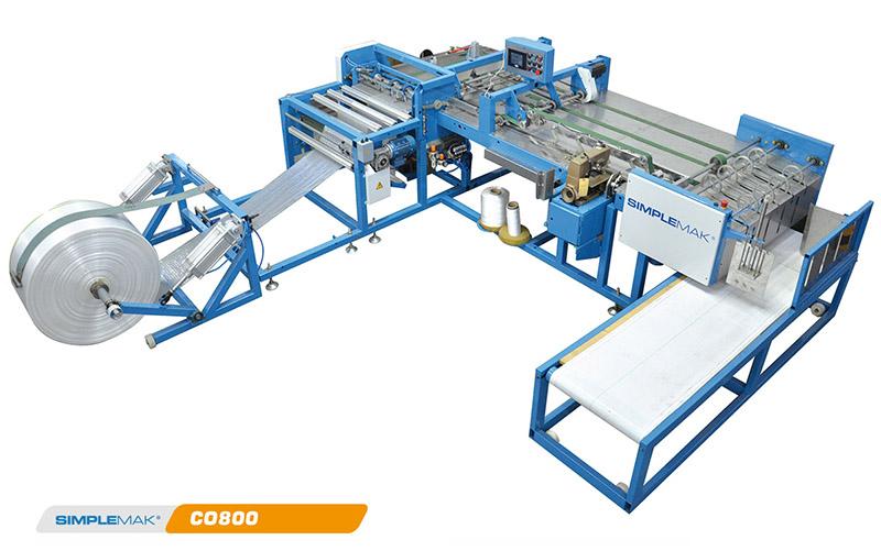 confeccionadora automatica 800 máquina para fabricar Costales de Rafia.